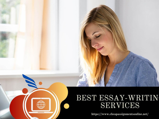 BEST ESSAY-WRITING SERVICES