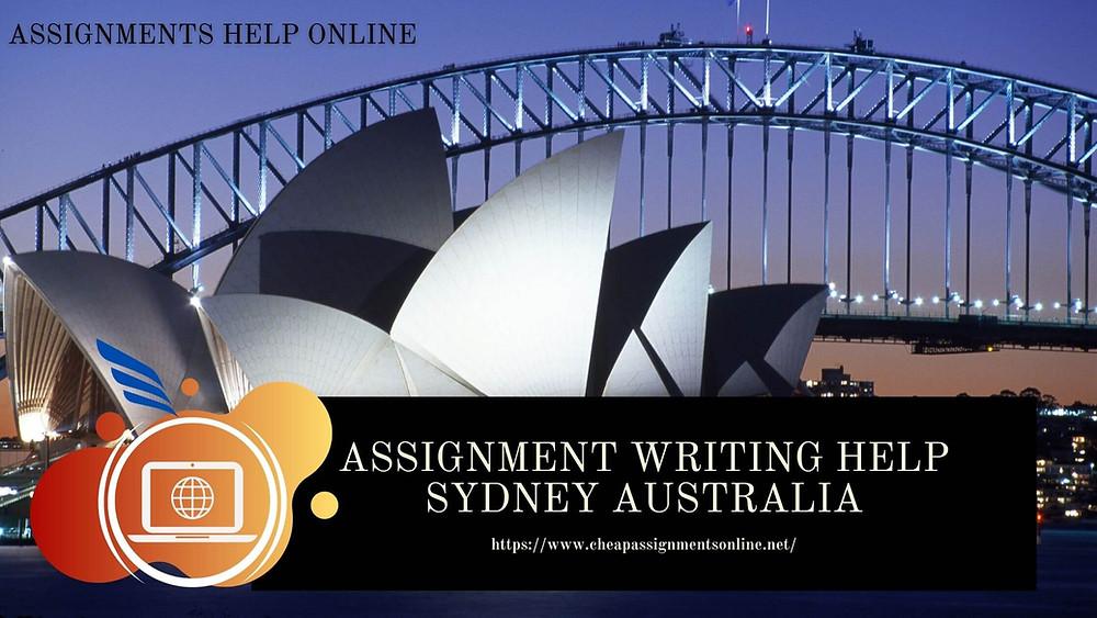 Assignment Writing Help Sydney Australia