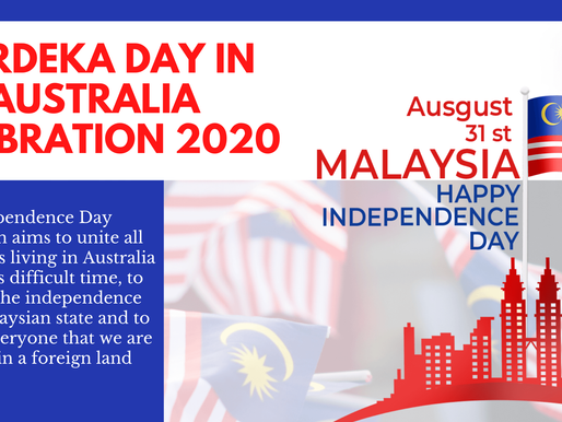 Malaysia's Independence Day celebrations in Australia 2020