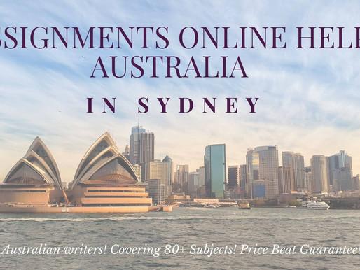 Assignments Online Help Australia