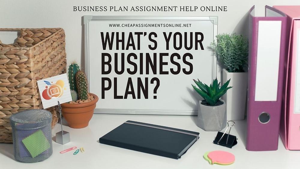 Business Plan Assignment Help Online