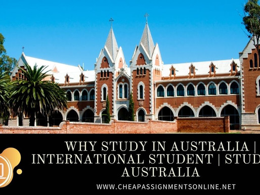 Why Study in Australia | International Student | Study In Australia