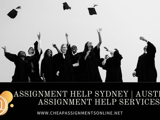 Assignment Help Sydney | Australia Assignment Help Services