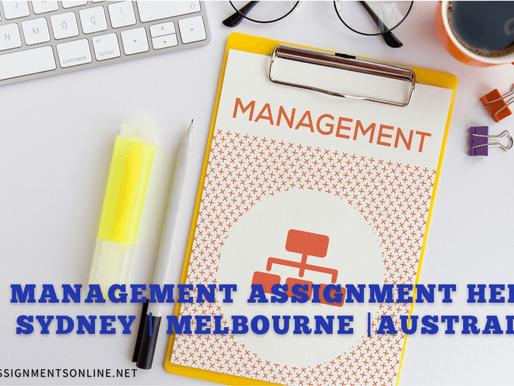 Management Assignment Help | Sydney | Melbourne |Australia