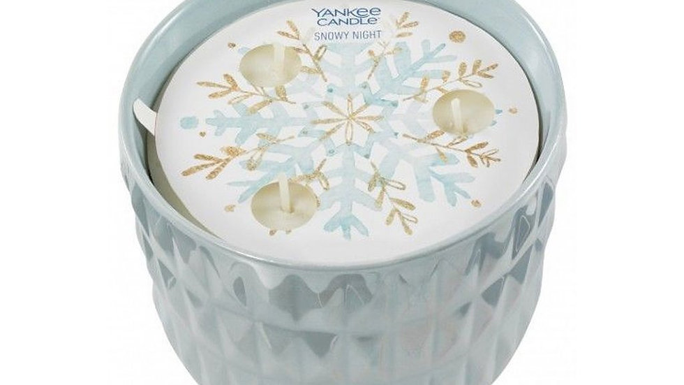 Snowy night Yankee Candle