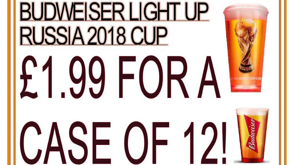 World Cup Watch: Budweiser Lights Up the Action With Noise-Activated Cups