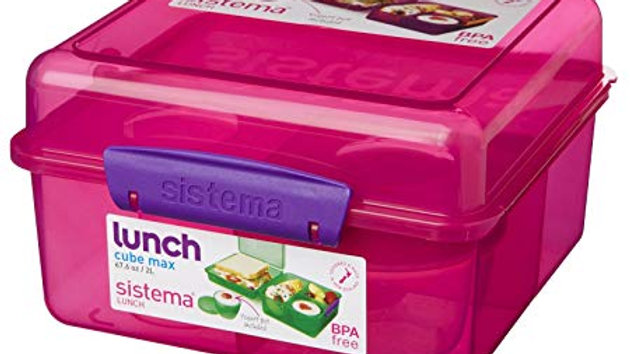 Sistema Lunch 1745 Lunch Cube Max 2L with yogurt pot