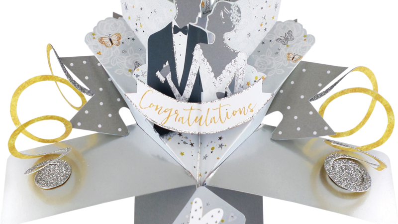 Second Nature Pop Ups - Wedding Day (Bride & Groom)