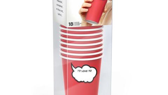 CHIT CHATS PARTY CUPS - WRITE-ON PAPER CUPS