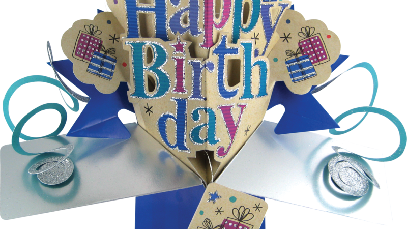 Second Nature Pop Ups -happy birthday