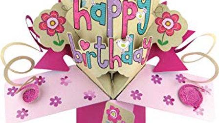 Second Nature Pop Ups       Happy  Birthday