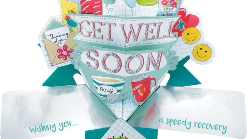 Second Nature Pop Ups - Get Well (Icons)