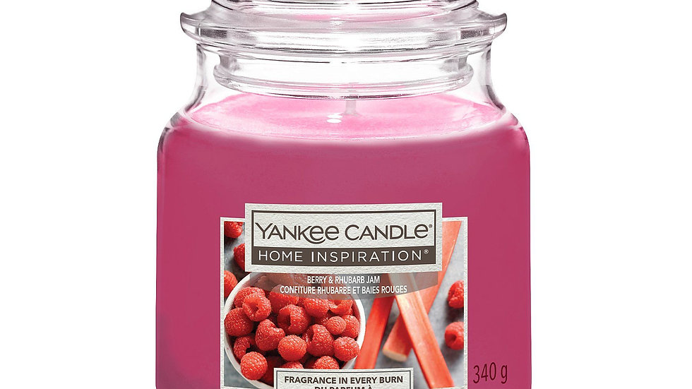 Berry and Rhubarb Jam Yankee Candle