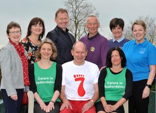 Trustee to run seven half marathons in seven days for seven different charities.