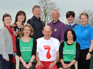 Trustee to run seven half marathons in seven days for seven different charities.