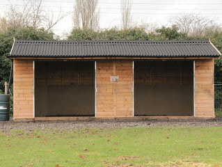 National Lottery Fund two New Field Shelters for BDHRA