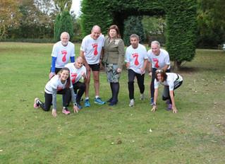 Seven for Seven in in  Seven Raises £9,400 for BDHRA