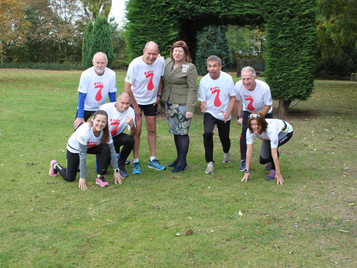 Seven for Seven in in Seven Raises £9,400 for BDHRA