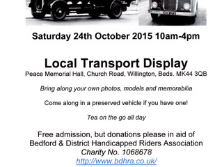 Local Transport Display proceeds to BDHRA