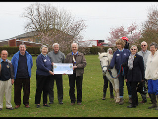 Bedford Lions Club once again supports BDHRA