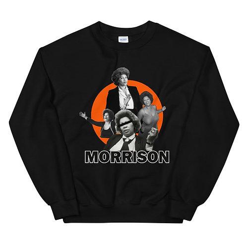 Toni Morrison - Blk & Orange Crewneck
