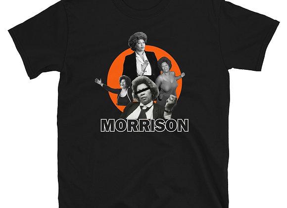 Toni Morrison - Blk & Orange Tee