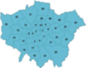 Map of Greater London Where Our Karndean, Polyflor & Amtico Approved Fitters Cover