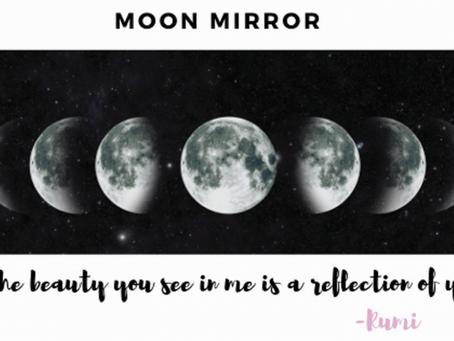 Natures Mirroring Moon