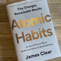 Atomic Habits, By James Clear
