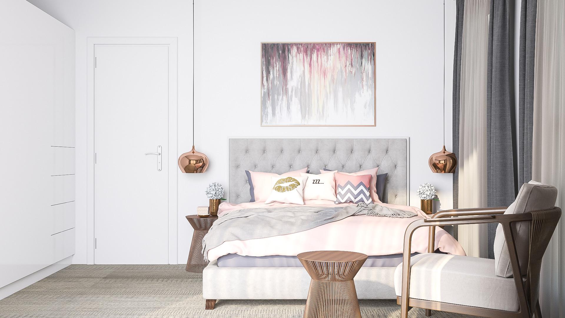 Queenstown master bedroom 1