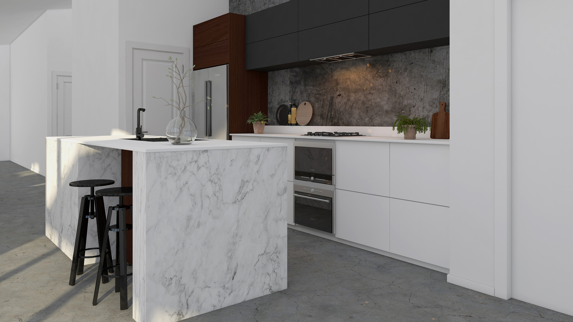 Rolleston interior render