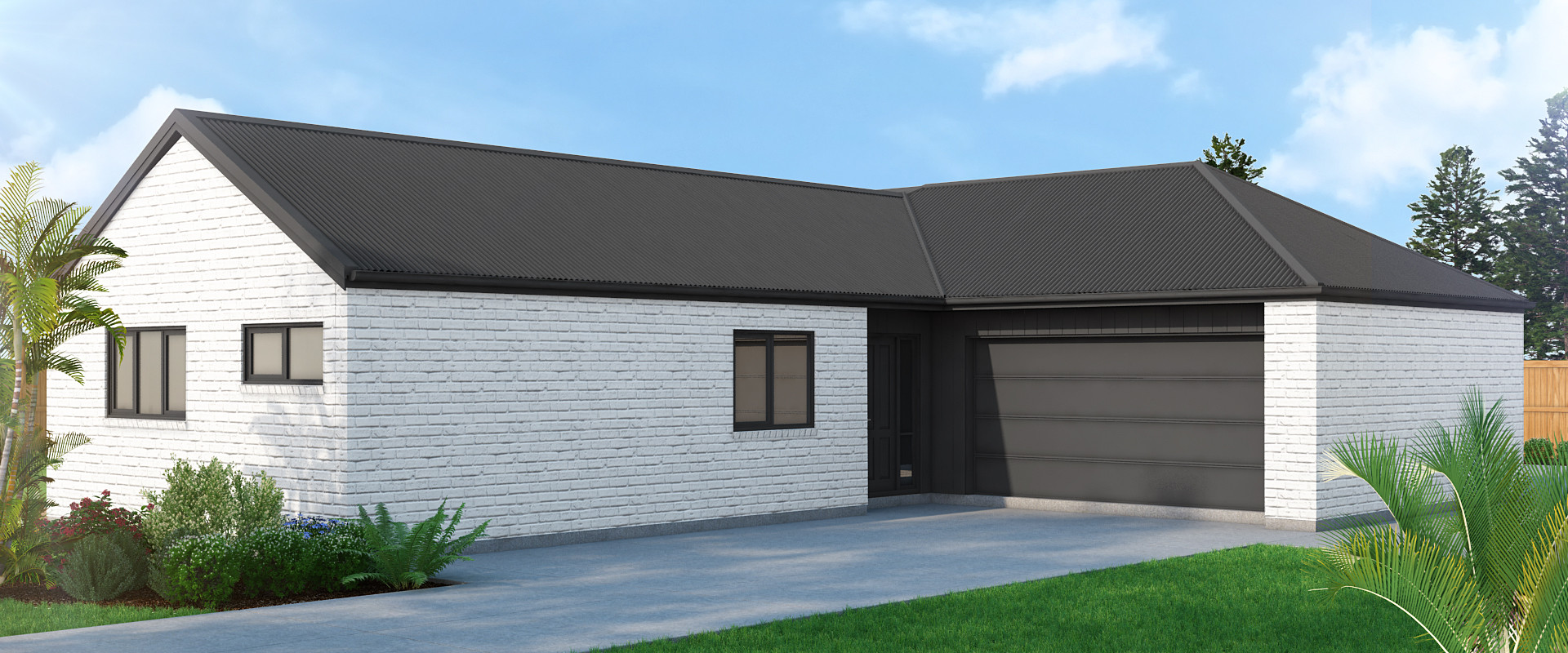 Barton Fields back exterior render
