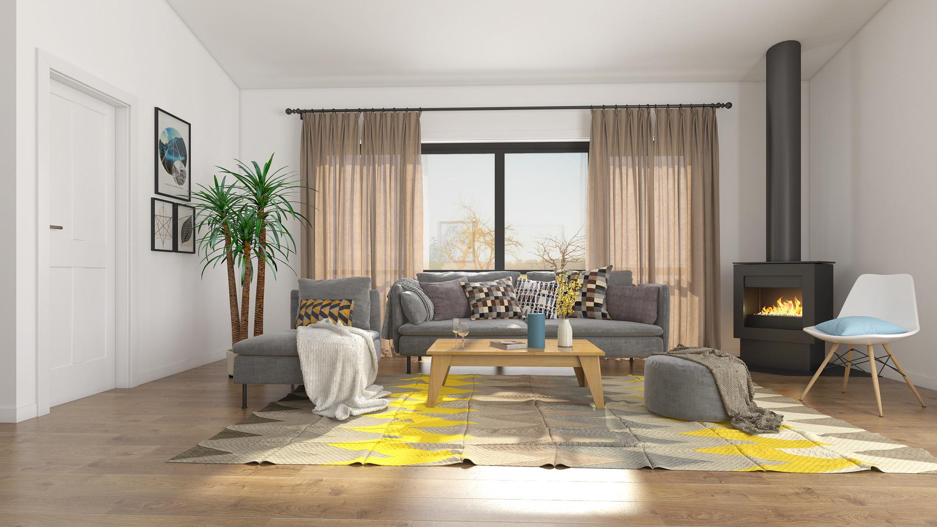 Kennedy's Landing living room