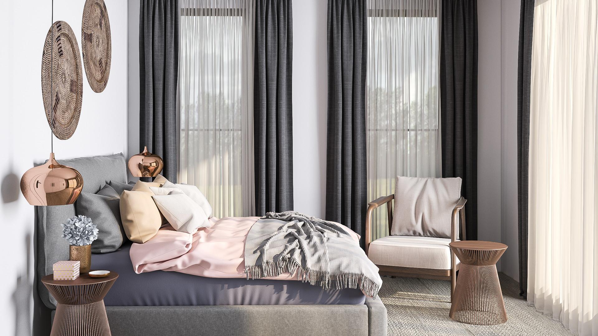 Queenstown master bedroom 2