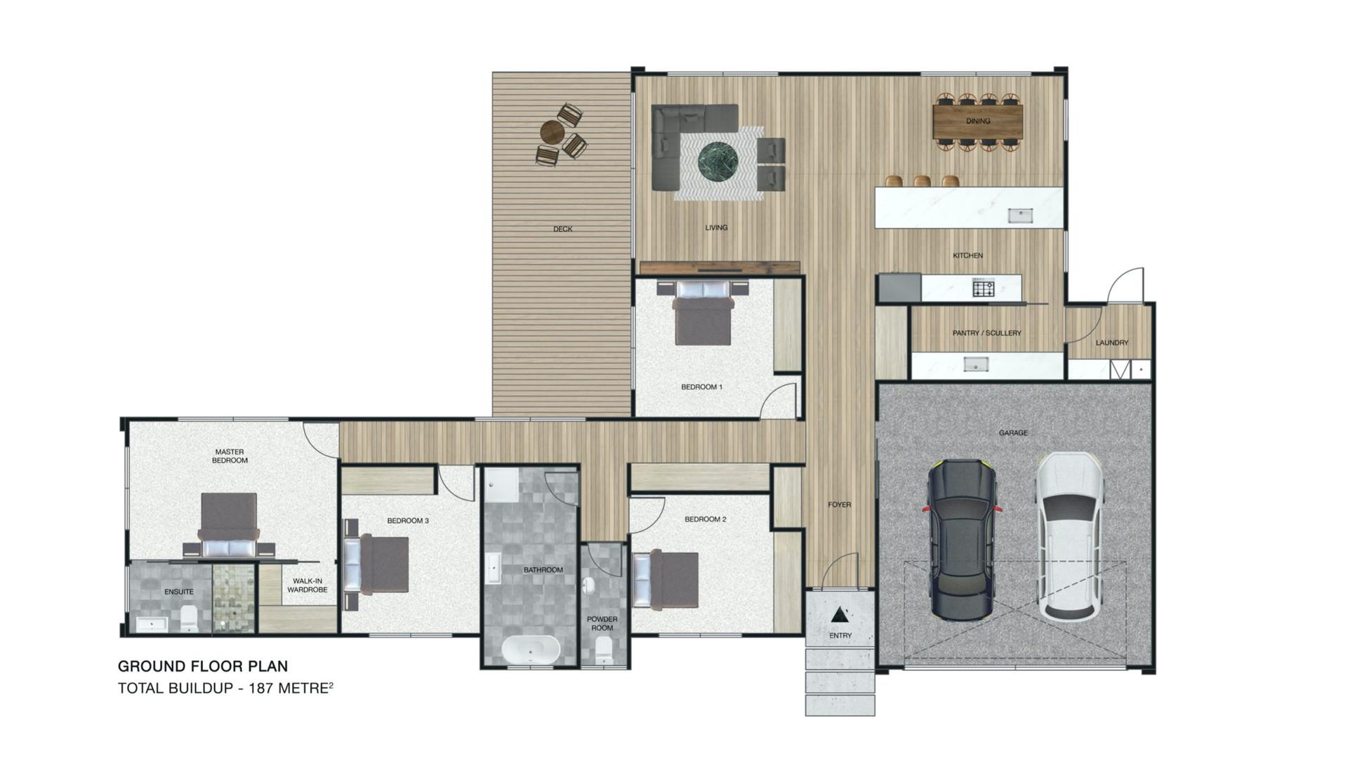 Blenheim Heights floor plan