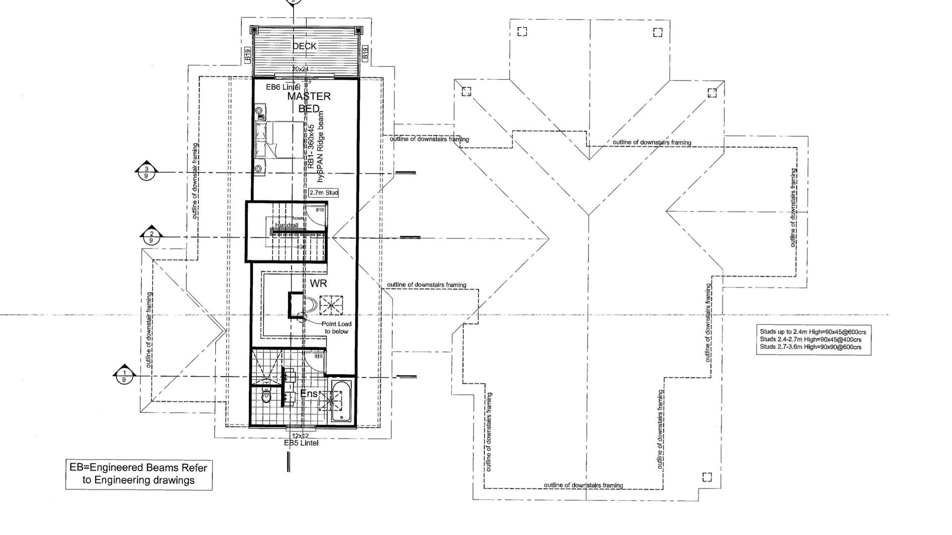 Titoki Straight Floor Plan 2