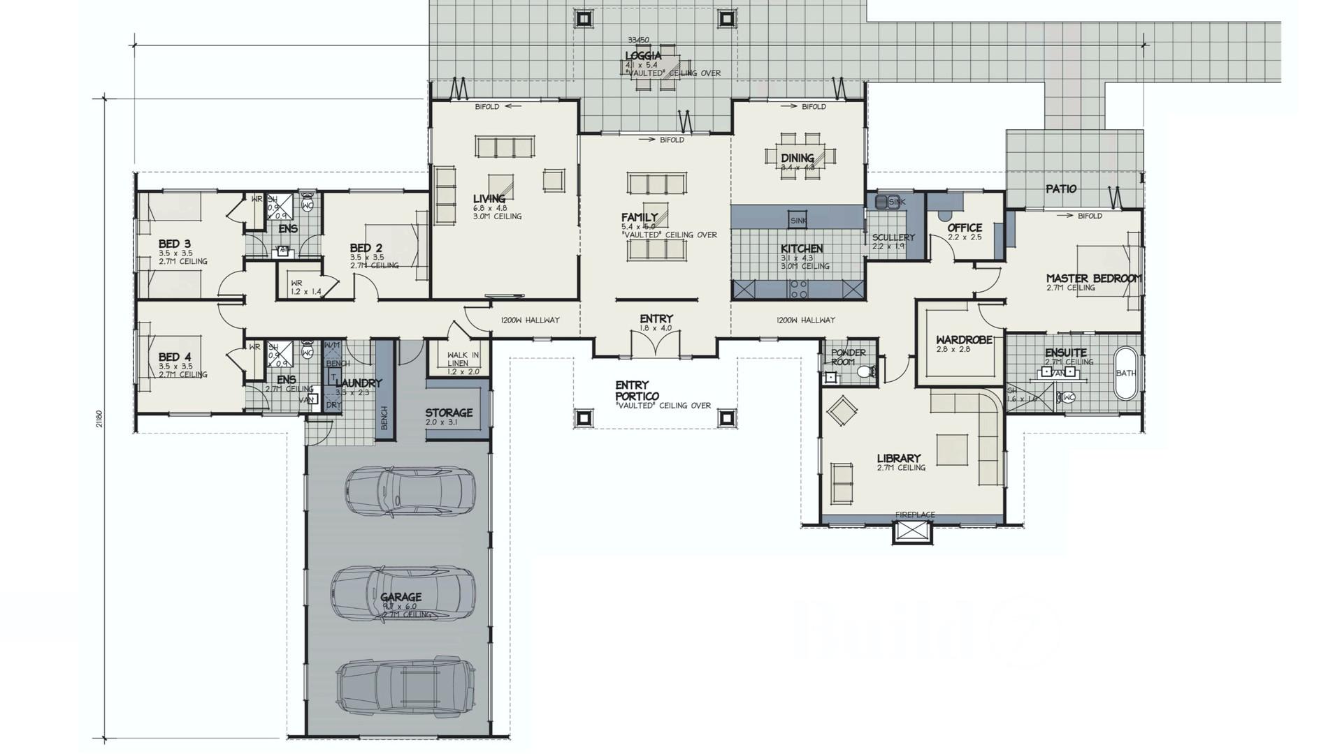 Hunter Floorplan