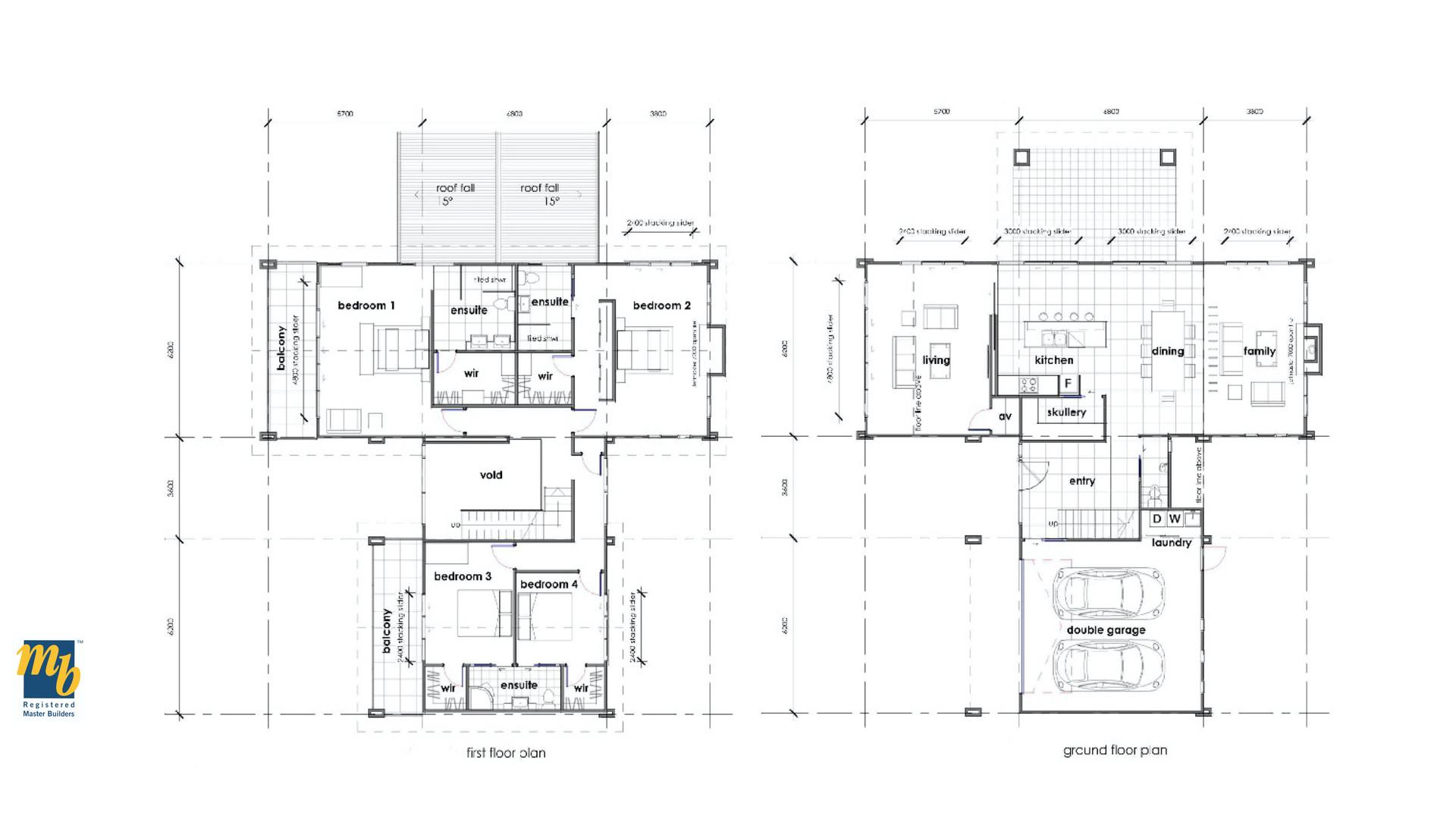 Rangitoto Floorplan