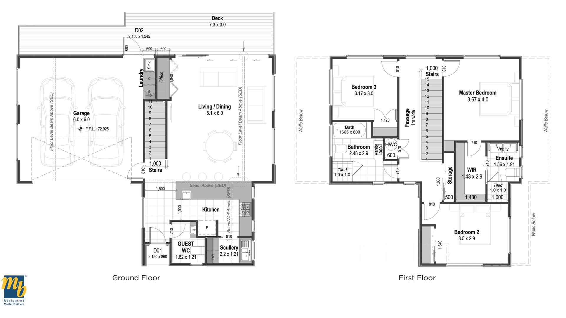 Amokura Floor Plan