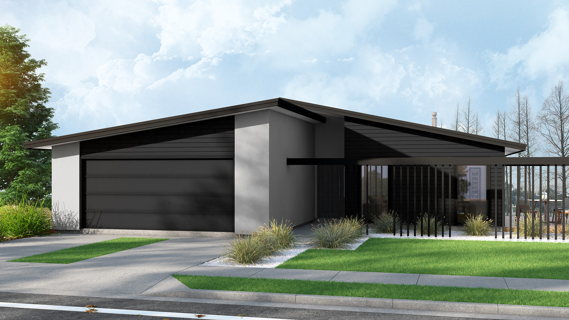 Rolleston exterior render