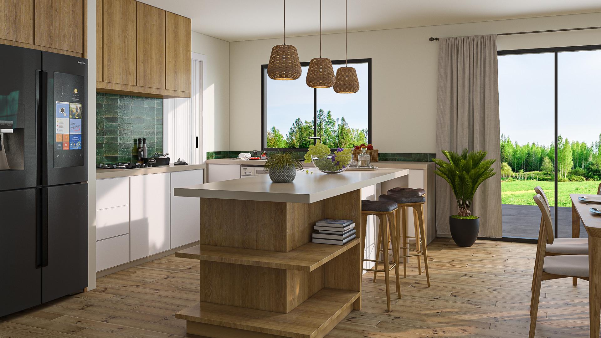 Pisa Moorings kitchen