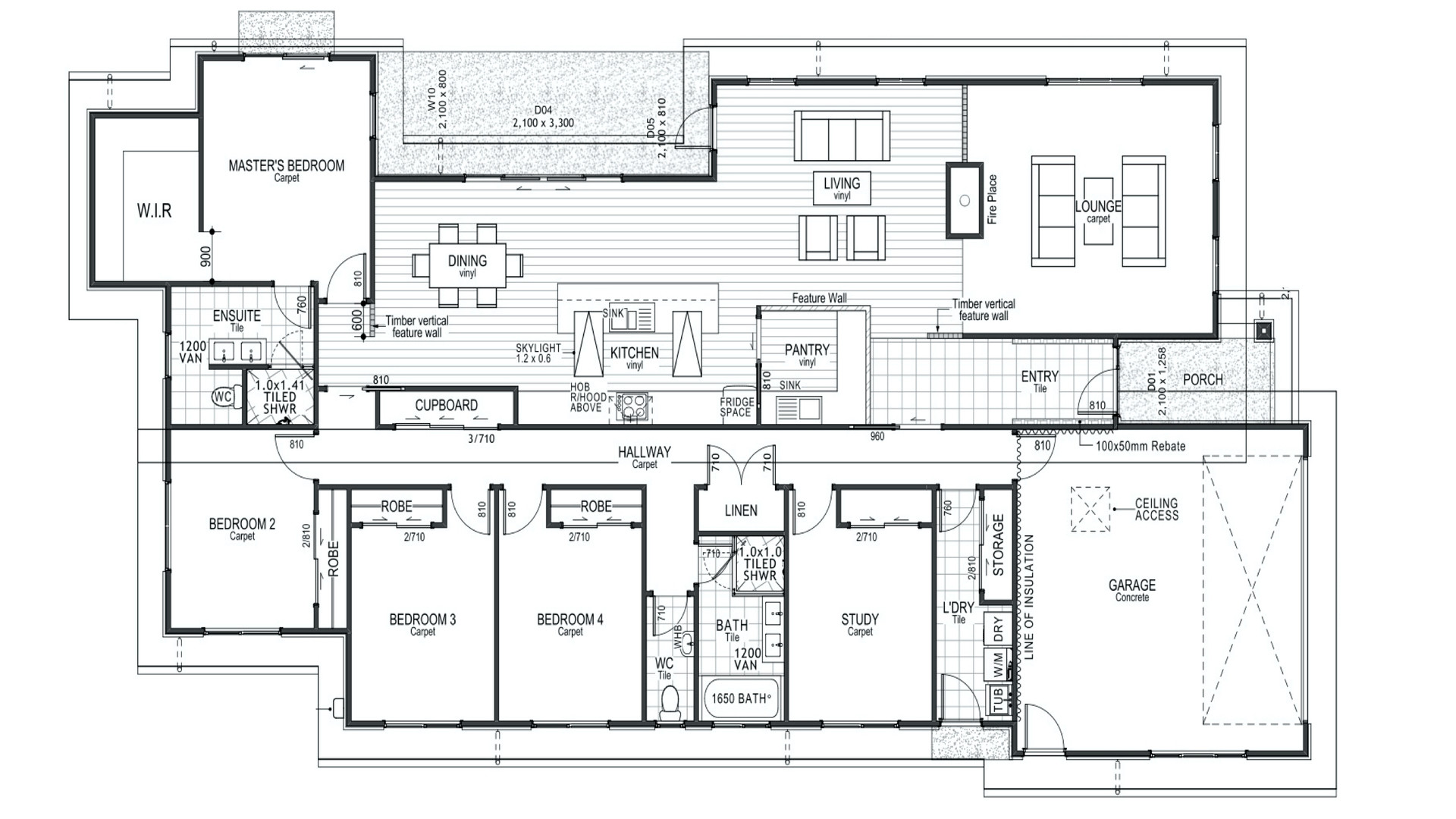 Rolleston Floorplan