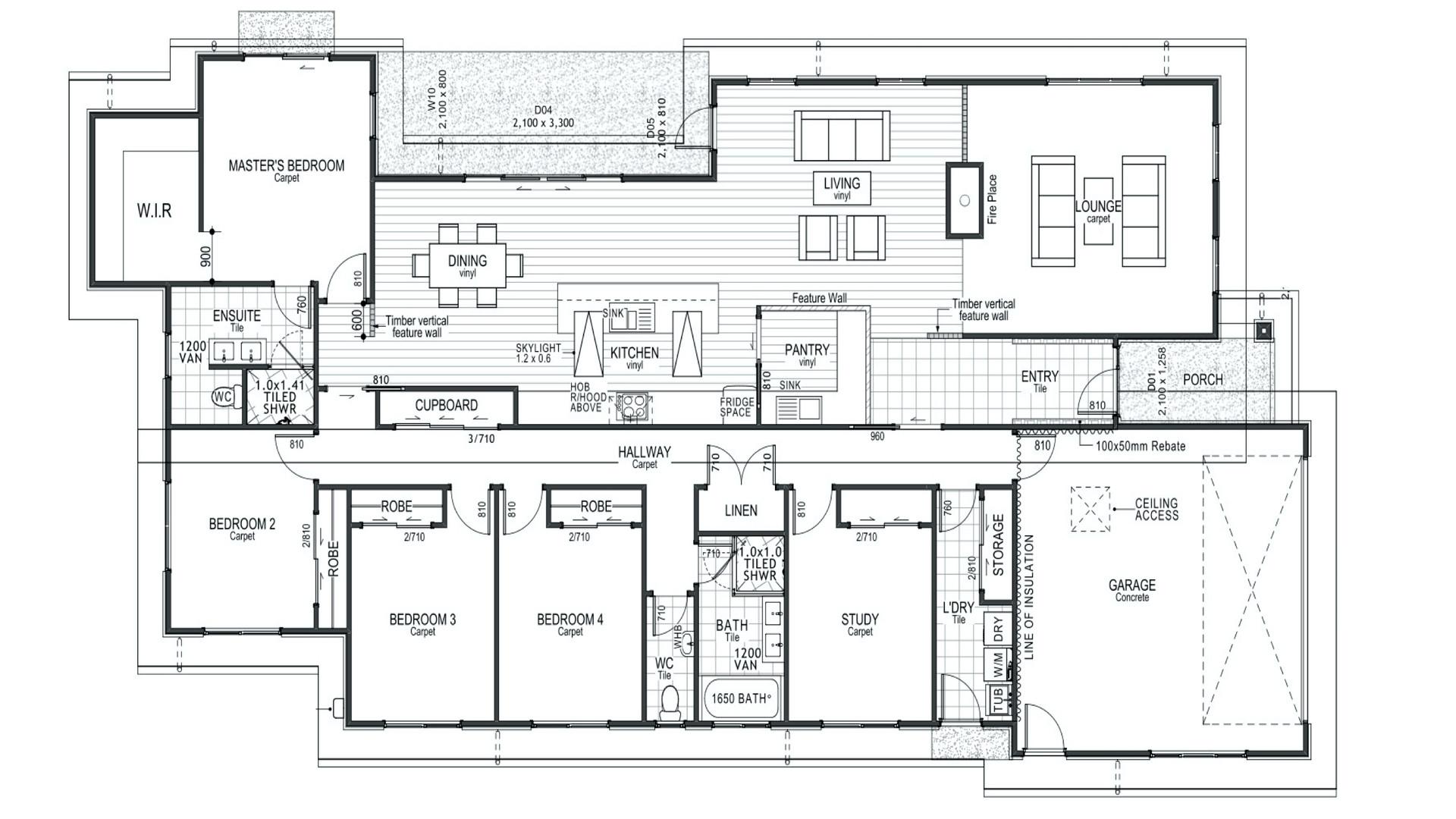 Rolleston Floorplan