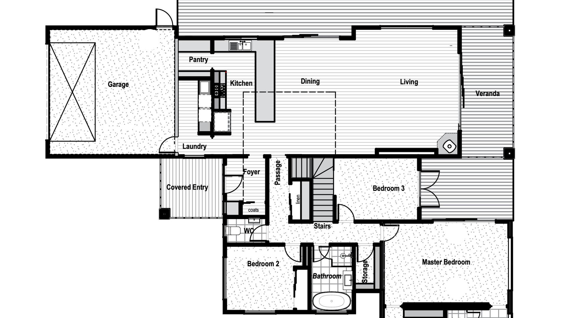 Pisa Moorings Floorplan