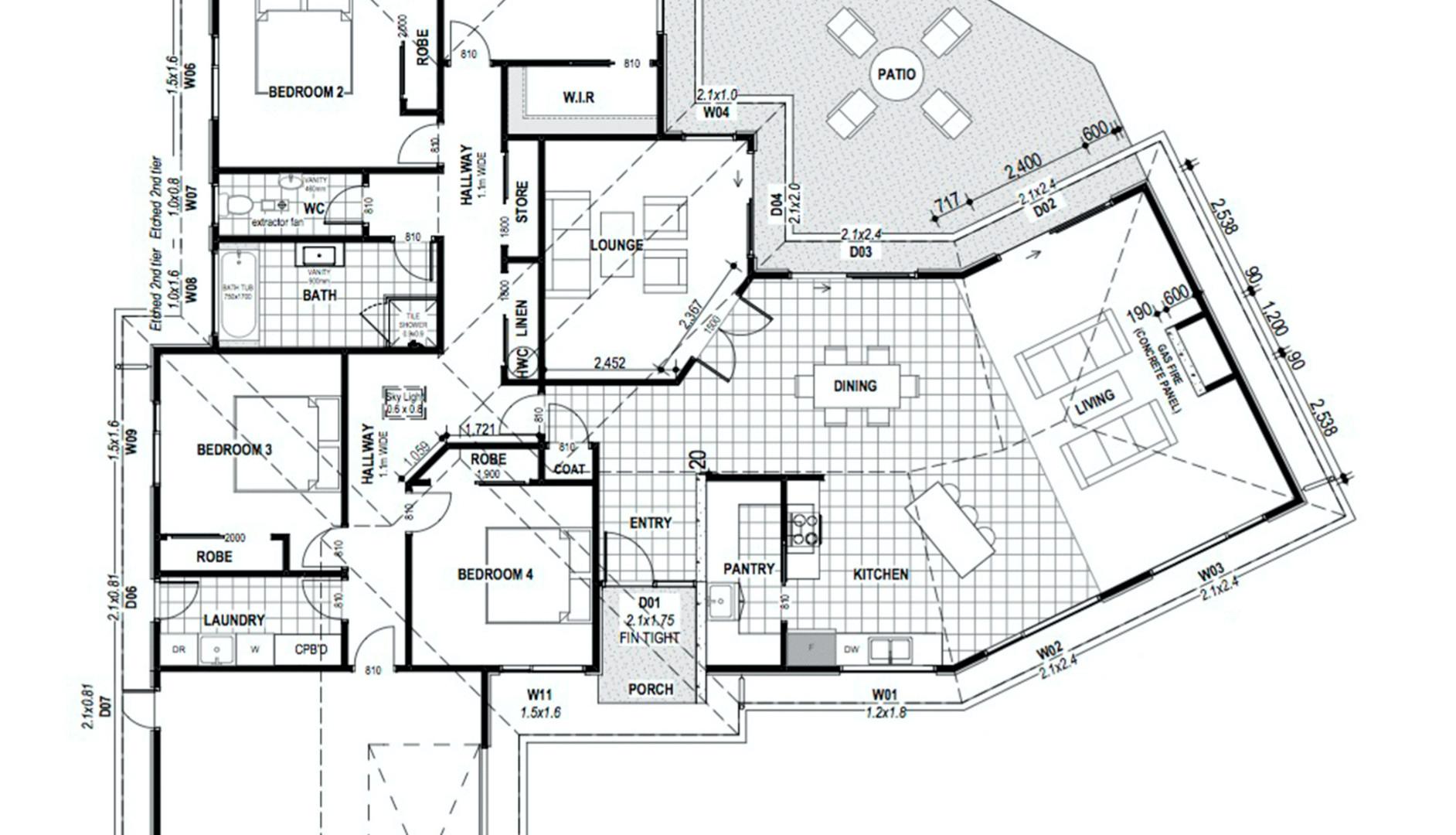 Liffey Springs Floorplan