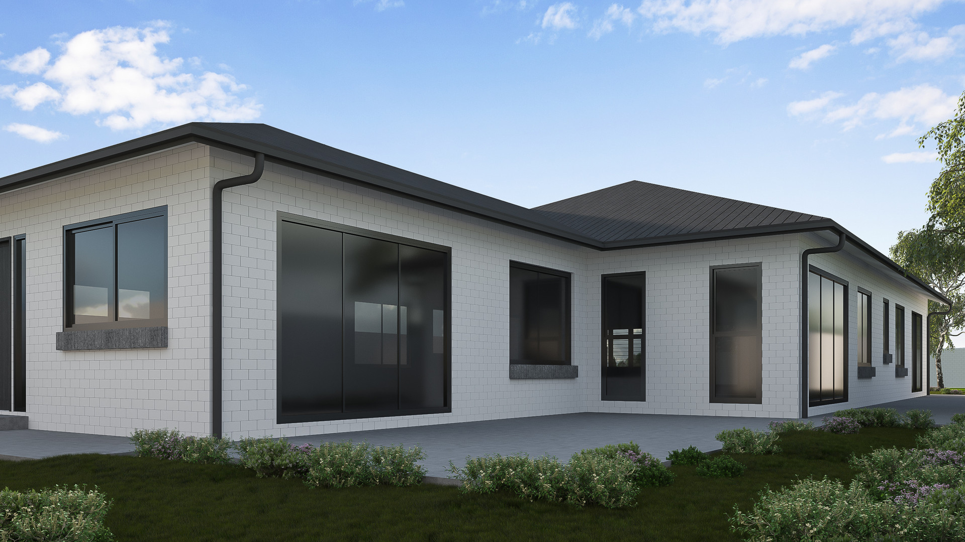 Queenstown side render