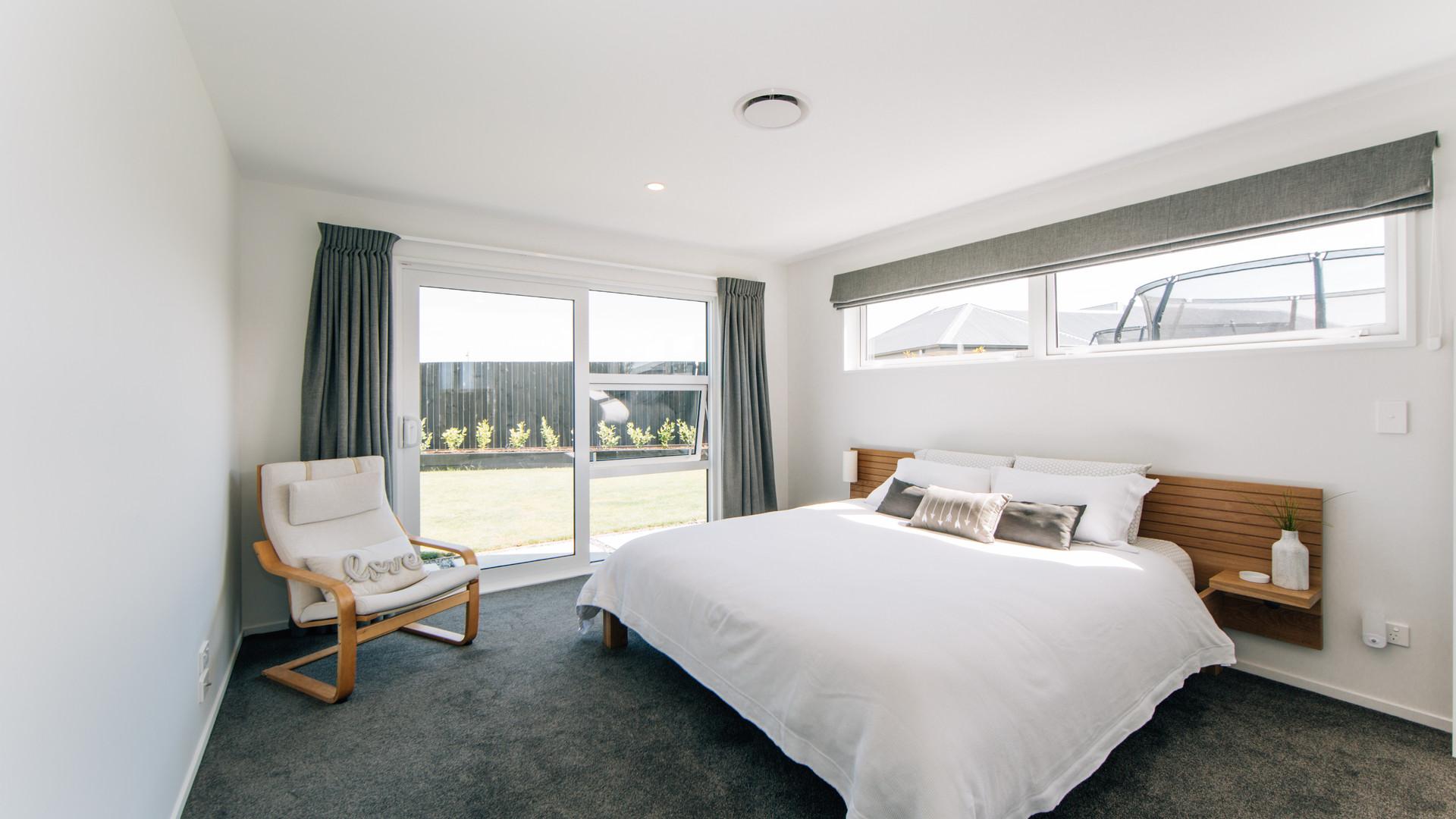 Liffey Springs guest bedroom