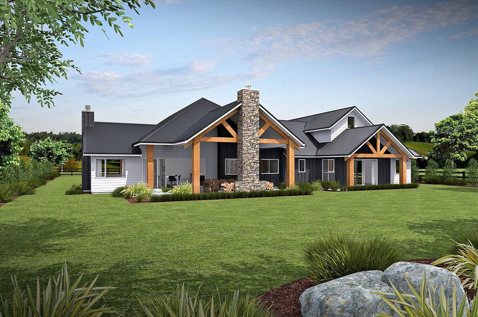 Titoki Straight house plan