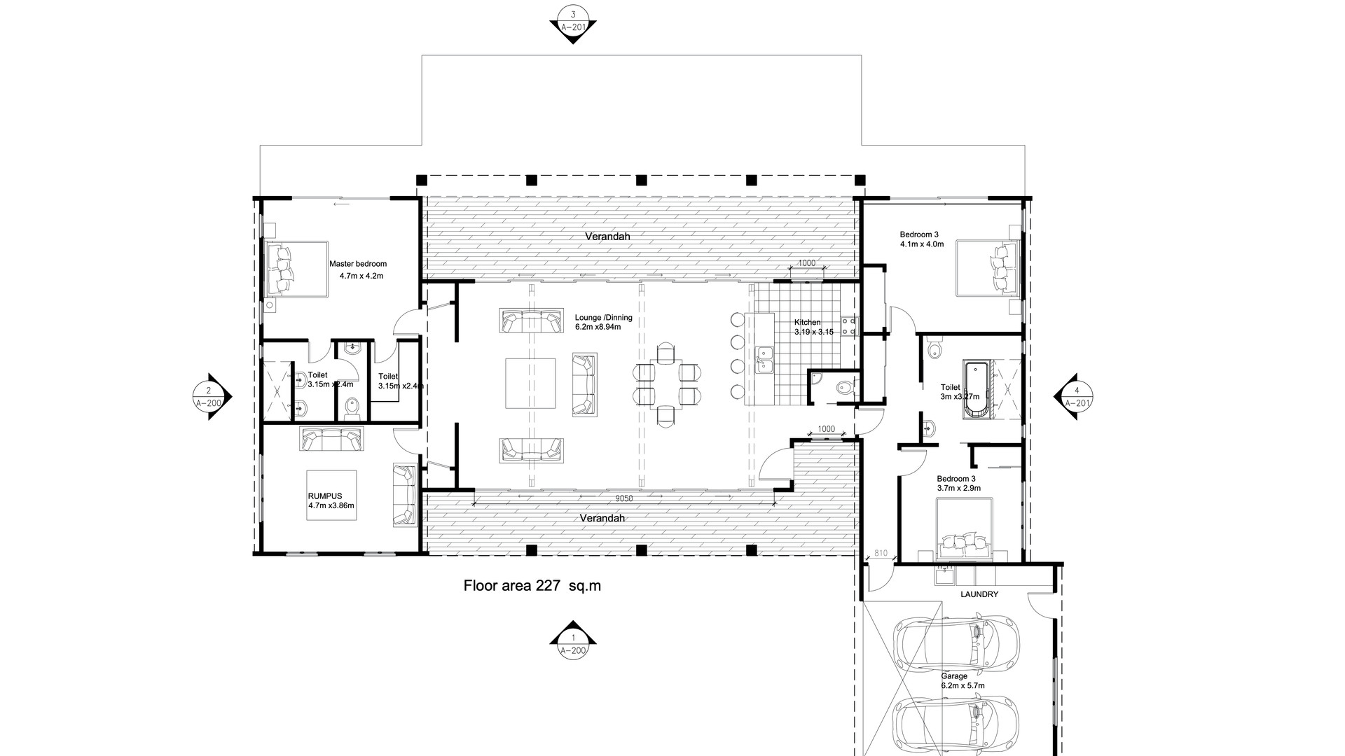 Akaroa Floorplan