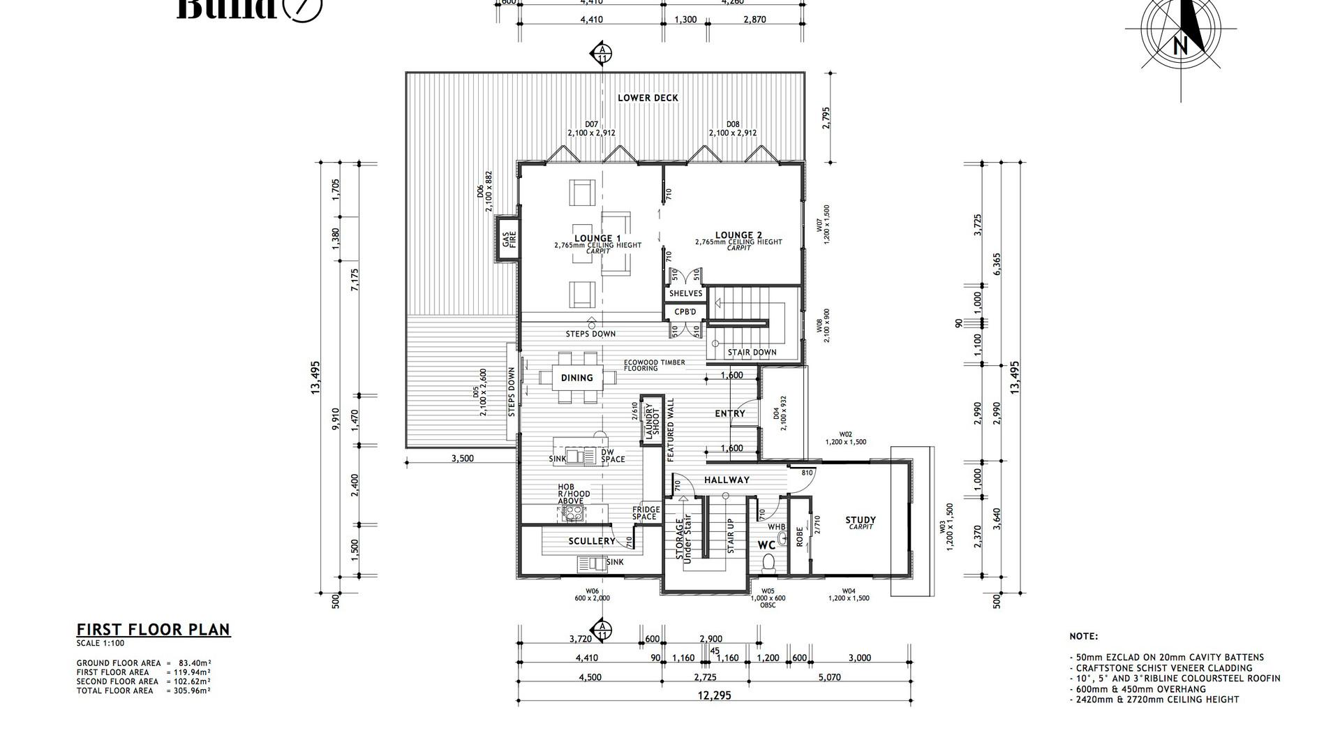 Westmorland first floor plan